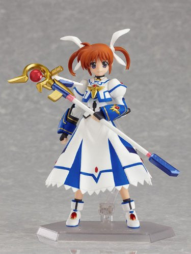 Image 2 for Mahou Shoujo Lyrical Nanoha The Movie 2nd A's - Takamachi Nanoha - Figma #159 - Sacred Mode ver. (Max Factory)