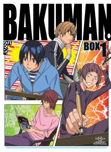 Image 1 for Bakuman 3rd Series Bd Box Vol.1