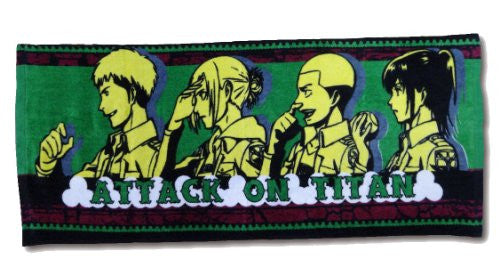Image 1 for Shingeki no Kyojin - Sasha Blouse - Annie Leonhart - Jean Kirstein - Connie Springer - Face Towel - Towel (Fragment)