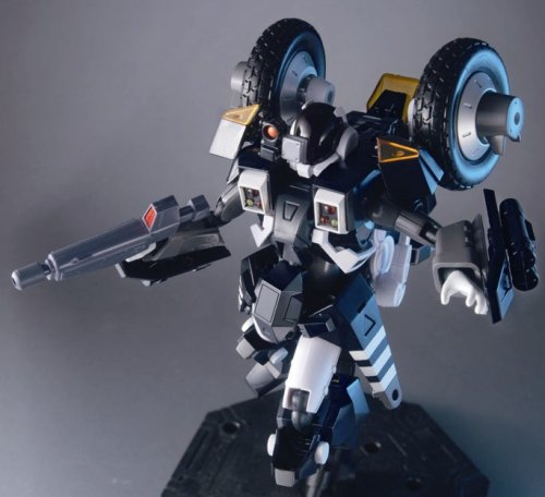 Image 5 for Kikou Souseki Mospeada - Ride Armor Dark Bartley Shinobu Type - Variable Action - Dark Mospeada - 1/15 (MegaHouse)