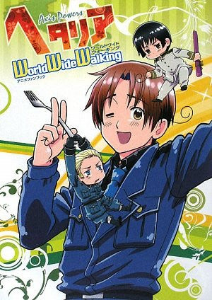 Image 1 for Hetalia Axis Powers World Wide Walking Animation Fan Book