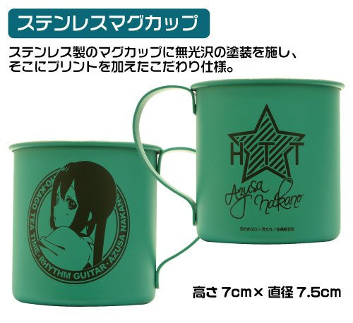 Image 4 for K-ON!! - Nakano Azusa - Face Towel - Mug - Pouch - AZUSA OTOMARI Set - GEE! Limited Ver. (Cospa)