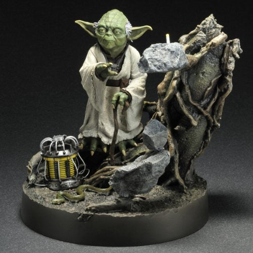 Image 4 for Star Wars - Yoda - ARTFX Statue - 1/7 - Empire Strikes Back ver. Episode V ver. (Kotobukiya)
