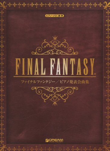 Image 1 for Final Fantasy Solo And Duet   Piano Solo Score Book