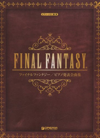 Image for Final Fantasy Solo And Duet   Piano Solo Score Book