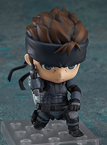 Image 4 for Metal Gear Solid - Solid Snake - Nendoroid #447 (Good Smile Company)