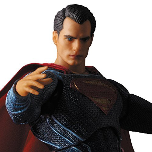 Image 3 for Batman v Superman: Dawn of Justice - Superman - Mafex No.018 (Medicom Toy)