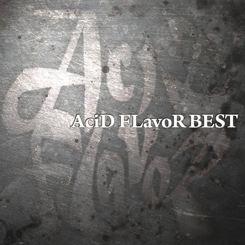 "Image for AciD FlavoR Best Album ""AciD FlavoR BEST"""