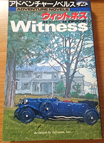 Witness Game Book / Rpg