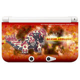 Pokemon TPU Cover for 3DS LL (Genshi Groudon) - 2