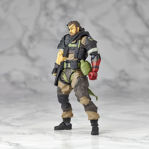 Image 8 for Metal Gear Solid V: The Phantom Pain - Naked Snake - Revolmini rm-012 - Revoltech - Venom ver. (Kaiyodo)