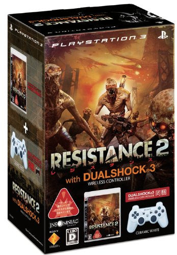 Image 1 for Resistance 2 (With Dual Shock 3 Pack: White)