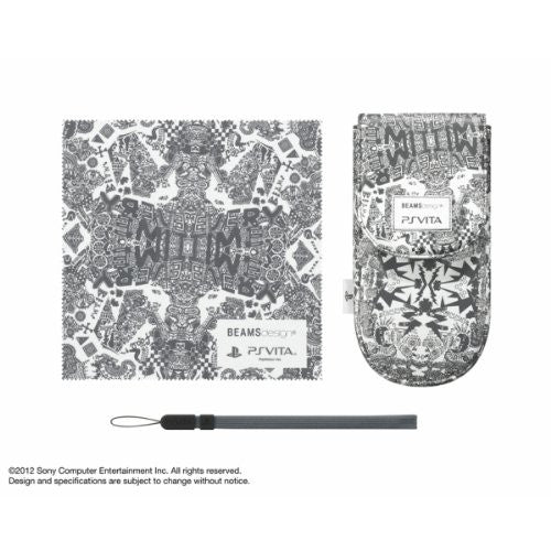 Image 1 for BEAMSdesign PS Vita Pouch Clothing & Pouch Set (Dark Gray)