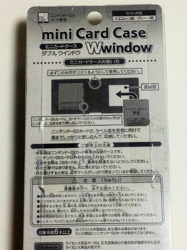 Nintendo DS Mini Card Case Window