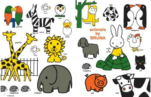 Image 7 for Miffy's Friends Book W/Miffy & Animal Design Tote Bag