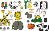 Thumbnail 7 for Miffy's Friends Book W/Miffy & Animal Design Tote Bag