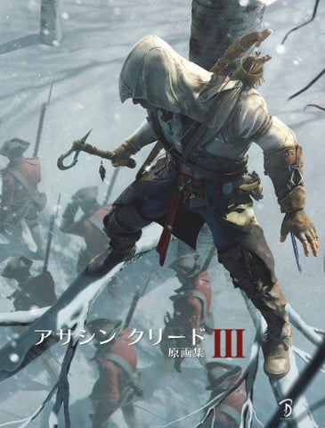 Image for Assassin's Creed Iii 3 Original Illustration Art Book / Ps3 / Xbox360