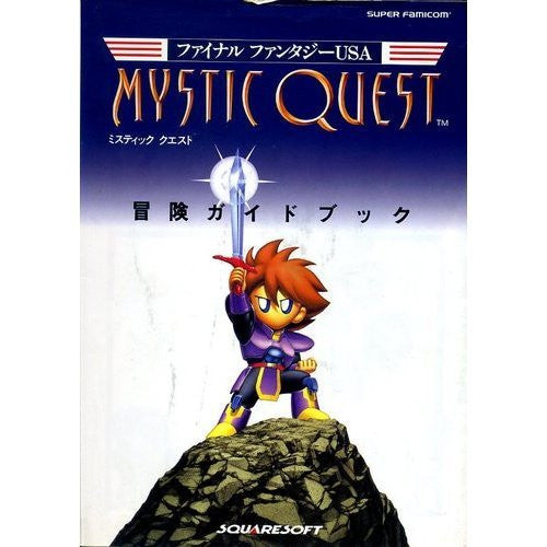 Image 1 for Final Fantasy Usa: Mystic Quest Adventure Guide Book / Snes