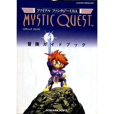 Image for Final Fantasy Usa: Mystic Quest Adventure Guide Book / Snes