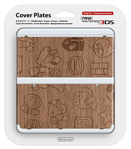 Image 1 for Wooden Mario Cover Plate No. 024