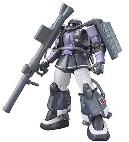 Image 5 for Kidou Senshi Gundam: The Origin - MS-06R-1A Zaku II High Mobility Type - HG Gundam The Origin - 1/144 - Black Tri-Stars, Gaia/Mash Custom (Bandai)