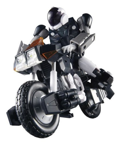 Image 1 for Kikou Souseki Mospeada - Ride Armor Dark Bartley Shinobu Type - Variable Action - Dark Mospeada - 1/15 (MegaHouse)