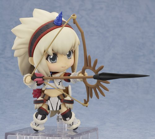 Image 4 for Monster Hunter 4 - Airou - Hunter - Nendoroid #377 - Kirin Armor ver., Full Action (Good Smile Company)
