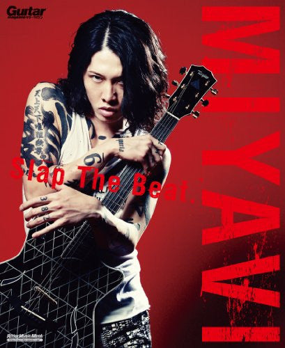 Image 2 for Miyavi Slap The Beat   Guitar Book And Score