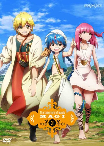 Image for Magi The Labyrinth Of Magic 2