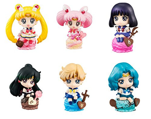 Image for Petit Chara Land Bishoujo Senshi Sailor Moon Ice Cream☆ Party Set