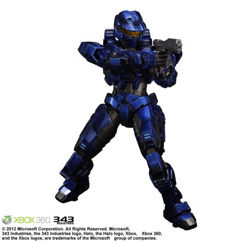 Image 1 for Halo: Combat Evolved - Spartan Mark V - Play Arts Kai - Blue (Microsoft Square Enix)