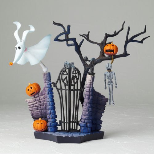 Image 8 for The Nightmare Before Christmas - Jack Skellington - Zero - Revoltech - Revoltech SFX #017 - Santa Ver. (Kaiyodo)