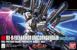 Thumbnail 5 for Kidou Senshi Gundam UC - RX-0 Full Armor Unicorn Gundam - HGUC 156 - 1/144 - Unicorn Mode (Bandai)