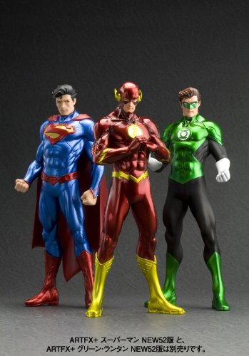 Image 9 for Justice League - Flash - DC Comics New 52 ARTFX+ - 1/10 (Kotobukiya)
