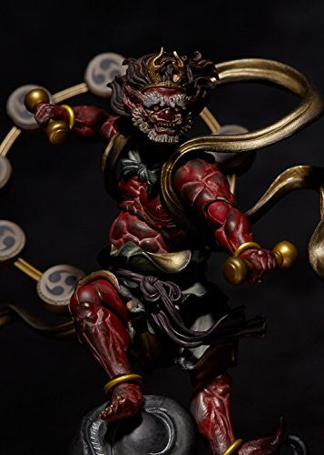 Image 4 for KT Project KT-EX05 - Revoltech - Raijin - Red (Kaiyodo)