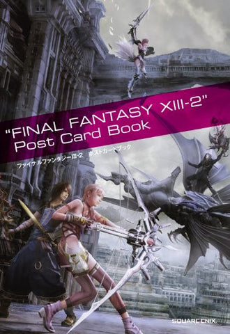 Final Fantasy Xiii 2 Post Card Book