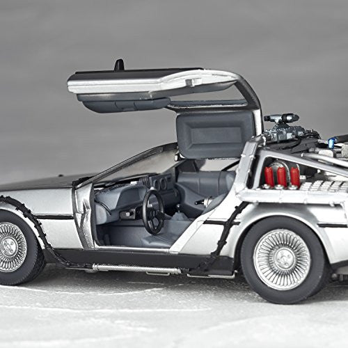 Image 5 for Back to the Future Part II - DeLorean Time Machine - Figure Complex Movie Revo No.001 - Revoltech (Kaiyodo)