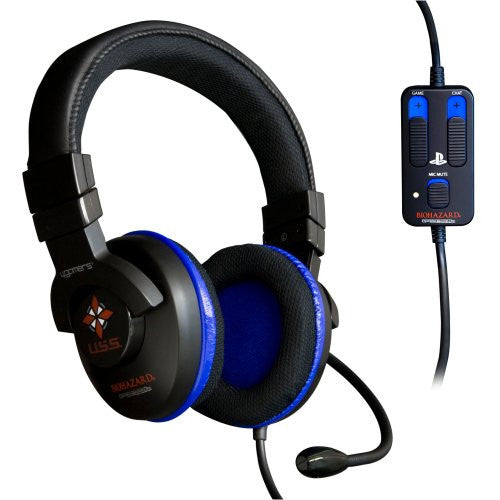 Image 1 for MSY Biohazard Operation Raccoon City Stereo Gaming Headset (PS3)