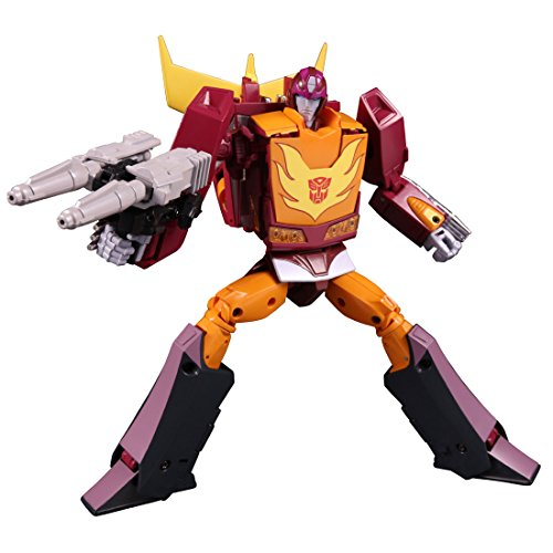 Image 1 for Transformers 2010 - Hot Rodimus - The Transformers: Masterpiece MP-40 - Targetmaster Hot Rodimus (Takara Tomy)