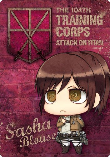 Image 1 for Shingeki no Kyojin - Sasha Blouse - Mousepad - Chimi, Salute ver. (Gift)