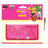 Thumbnail 1 for Pocket Monster TPU Cover for Nintendo 3DS [Best Wish A Version]