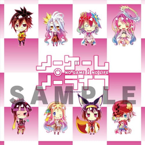 Image for No Game No Life - Feel Nilvalen - Hatsuse Izuna - Jibril - Kurami Zell - Shiro - Sora - Stephanie Dola - Tet - Mini Towel (flagments)