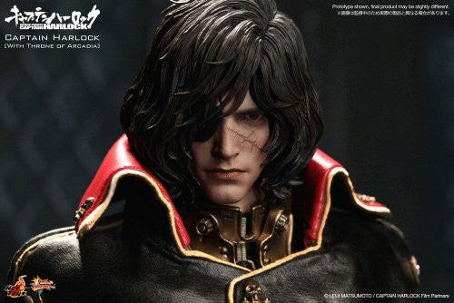 Image 4 for Space Pirate Captain Harlock - Captain Harlock - Torisan - Movie Masterpiece MMS223 - 1/6 - Throne of Arcadia (Hot Toys)