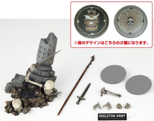 Image 4 for Jason and the Argonauts - Revoltech - Revoltech SFX 020 - Skeleton Army - 2nd Ver. (Kaiyodo)