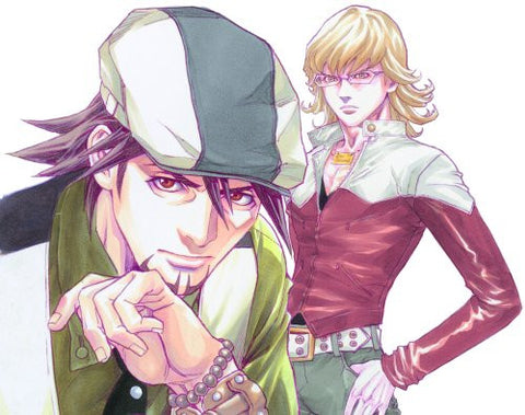 Tiger & Bunny   Illustrations & Sketches Collection