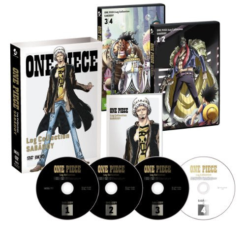 Image 1 for One Piece Log Collection - Sabaody [3DVD+CD Limited Pressing]