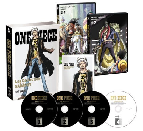 Image for One Piece Log Collection - Sabaody [3DVD+CD Limited Pressing]