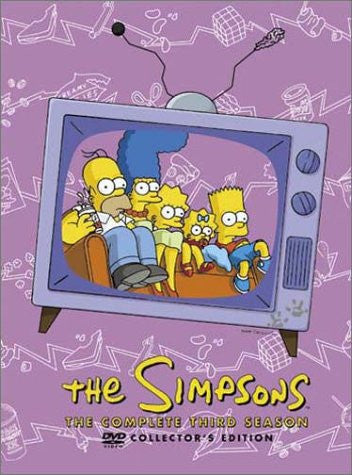 Image 1 for The Simpsons - The Complete Third Season Collector's Edition [Limited Edition]