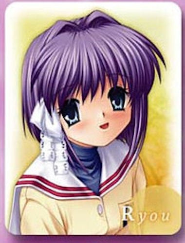Image 1 for Clannad - Fujibayashi Ryou - Keyholder (Toy's Planning Key Visual Art's)
