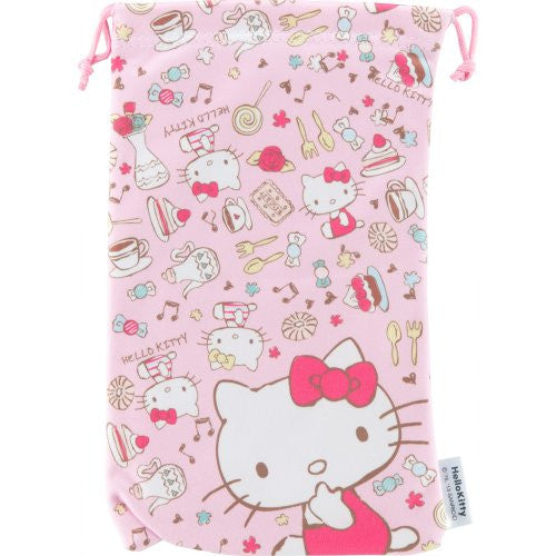 Image 4 for Hello Kitty Pouch for 3DS LL (Pink)